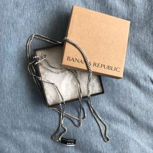 Banana Republic Long Sparkle Chain